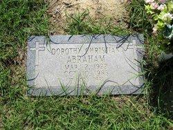 Dorothy <i>Christian</i> Abraham