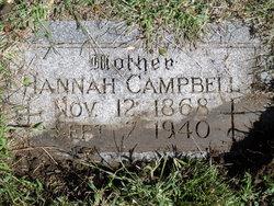 Hannah <i>Hannan</i> Campbell