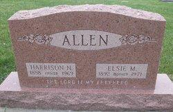 Elsie M <i>Ellis</i> Allen