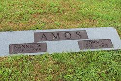Nannie W Amos