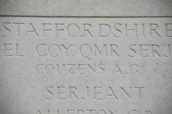 Company Quartermaster Serjeant Algernon George Couzens