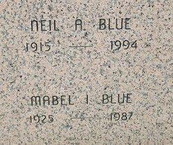 Mabel Irene <i>Taylor</i> Blue