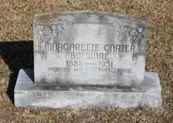 Margarette <i>Carter</i> Bolware