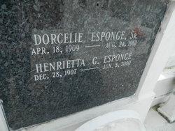 Dorcelie Esponge, Sr.