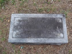 Bessie Bell <i>Anderson</i> Anderson