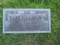 W Chester Brown