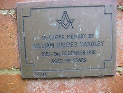 William Arthur Harper Handley