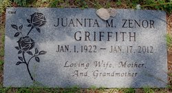 Juanita Marcella <i>Zenor</i> Griffith