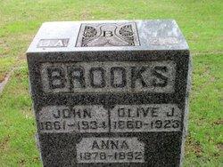 Olive Jane <i>Brant</i> Brooks