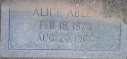 Alice Ables