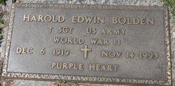 Harold Edwin Ed Bolden