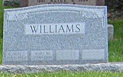 Mary M <i>Reber</i> Williams