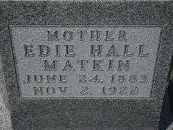 Edie Melvi <i>Hall</i> Matkin