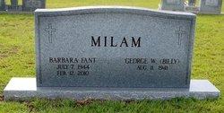 Barbara <i>Fant</i> Milam