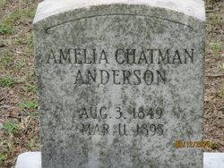 Amelia <i>Chatman</i> Anderson