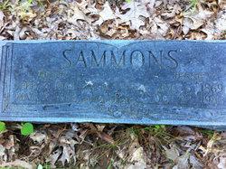 Jessie Rebecca <i>Simmons</i> Sammons