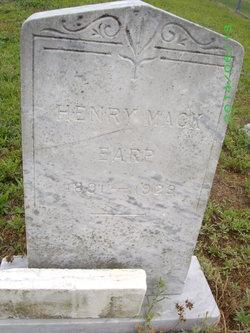 Henry Mack Earp