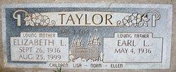 Elizabeth L Taylor