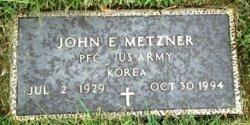 John E Metzner