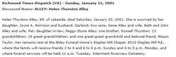 Helen Lorraine <i>Thurston</i> Alley