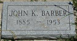 John K Barber