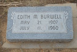 Edith Marie <i>Shetterly</i> Burwell