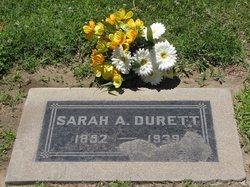Sarah Amanda <i>Gilbert</i> Durett