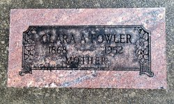 Clara A. <i>Norris</i> Fowler