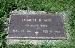 Emmett R Pate