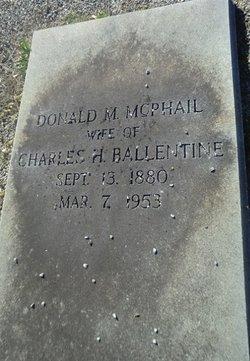 Donald M. <i>McPhail</i> Ballentine