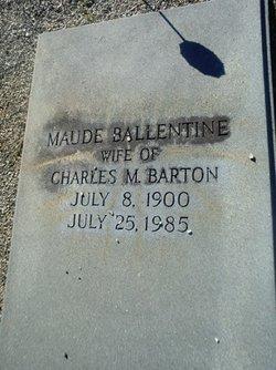 Maude <i>Ballentine</i> Barton