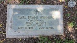 Carl Duane Winning
