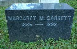 Margaret M Garrett