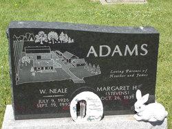 W Neale Adams