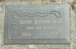 Jeanne Severine Alain