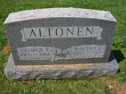 Martha E Altonen