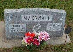 Doris <i>Lincoln</i> Marshall