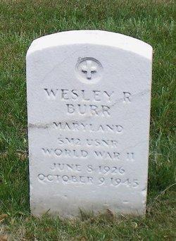 Wesley R Burr