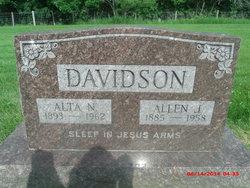 Alta Nellie <i>Weakland</i> Davidson