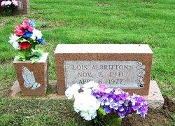 Thelma Lois <i>Malone</i> Albritton