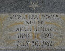 Myra Lee <i>Poole</i> Shultz