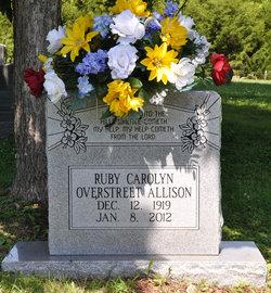Ruby Carolyn <i>Overstreet</i> Allison
