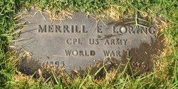 Merrill E Loring