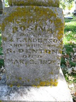 Rosina Sullivan <i>Anderson</i> Denton