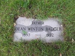 Dean Winton Badger