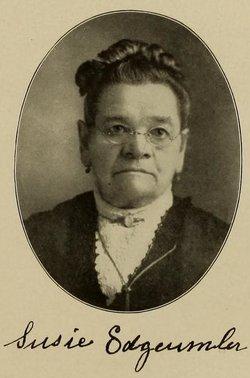 Susan M. Susie <i>Delaney</i> Edgcumbe