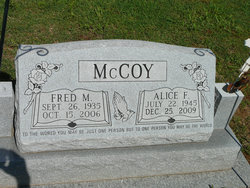 Alice Faye <i>Hubbard</i> McCoy