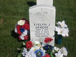 Evelyn June Juney <i>Gregg</i> DeRose