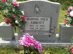Martha Vela <i>Lawson</i> Abbott