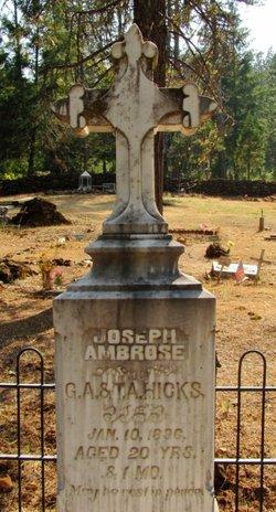 Joseph Ambrose Hicks